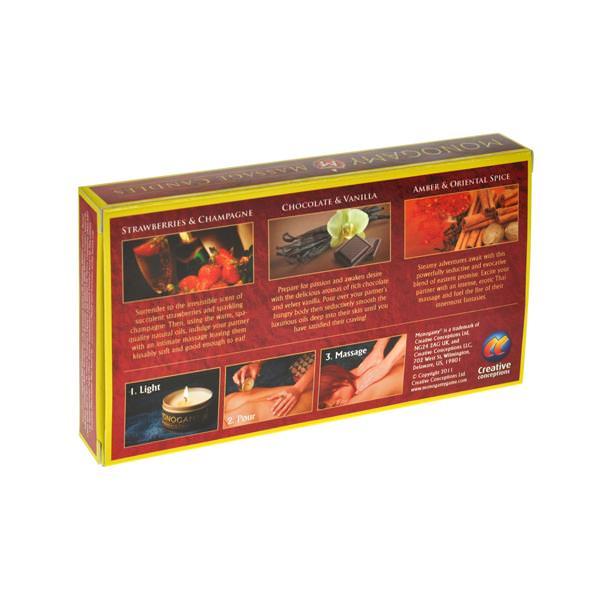 Monogamy Massage Candles 3 Pack