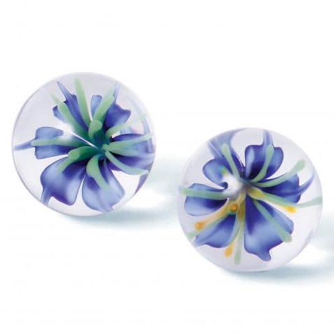 Blue Blossom Ben Wa Balls