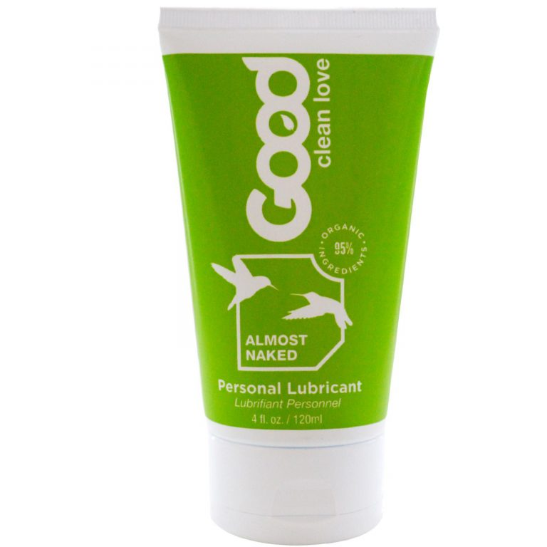 Good Clean Love Almost Naked Organic Water-Based Personal Lubricant
